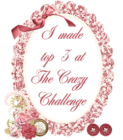 I made top 3 -  The Crazy Challenge