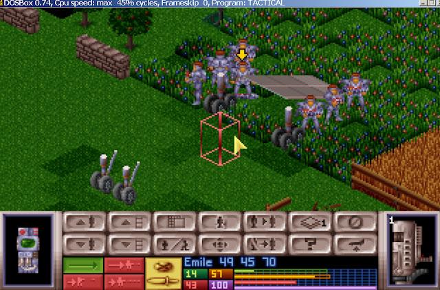 UFO: Enemy Unknown - Personal Armor Screenshot