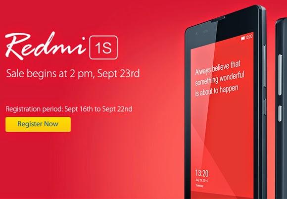 60,000 Xiaomi Redmi 1S