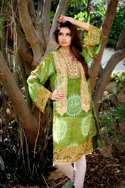 Shamaeel Eid Dress Collection 2014