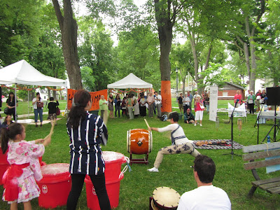 Hiroshima Day Kingston Peace Lantern Ceremony taiko drumming