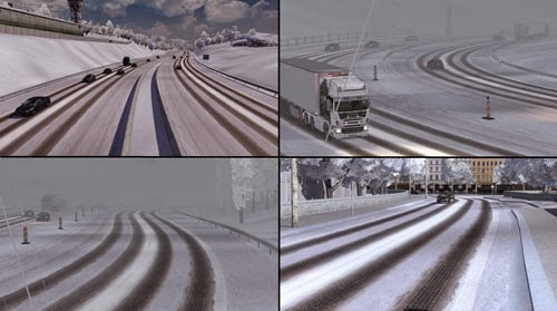 Euro Truck Simulator 2 Kış Yaması İndir