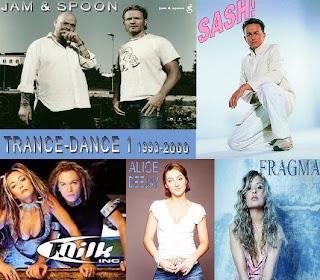 Trance-dance zenék a 90-es évek