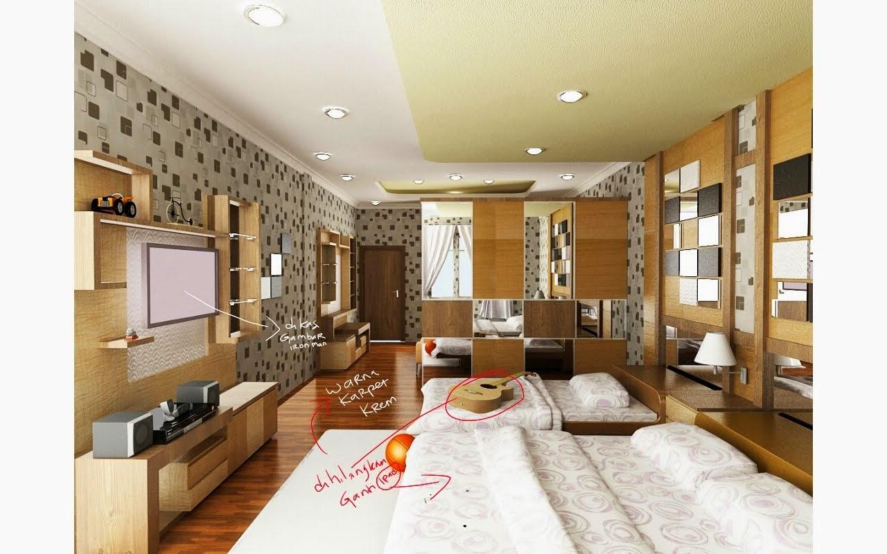 tfq architects desain proposal interior tempat tidur anak