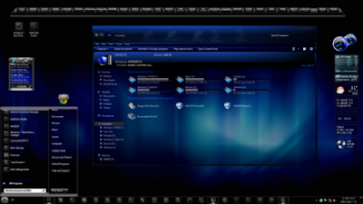 TEMA WINDOWS 7 BLUE ALLOY COOL
