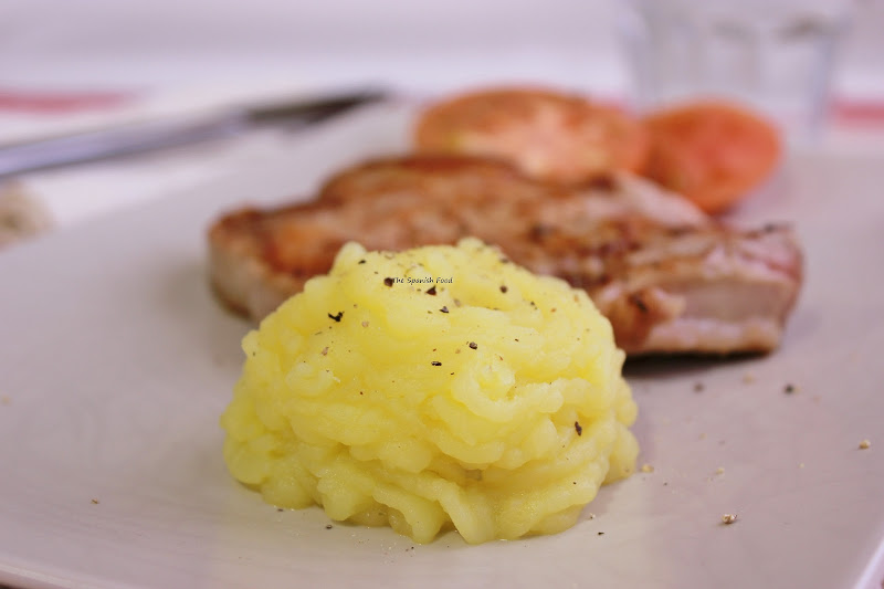 Pure de patatas para guarnicion the spanish food - Pure de patatas cremoso ...