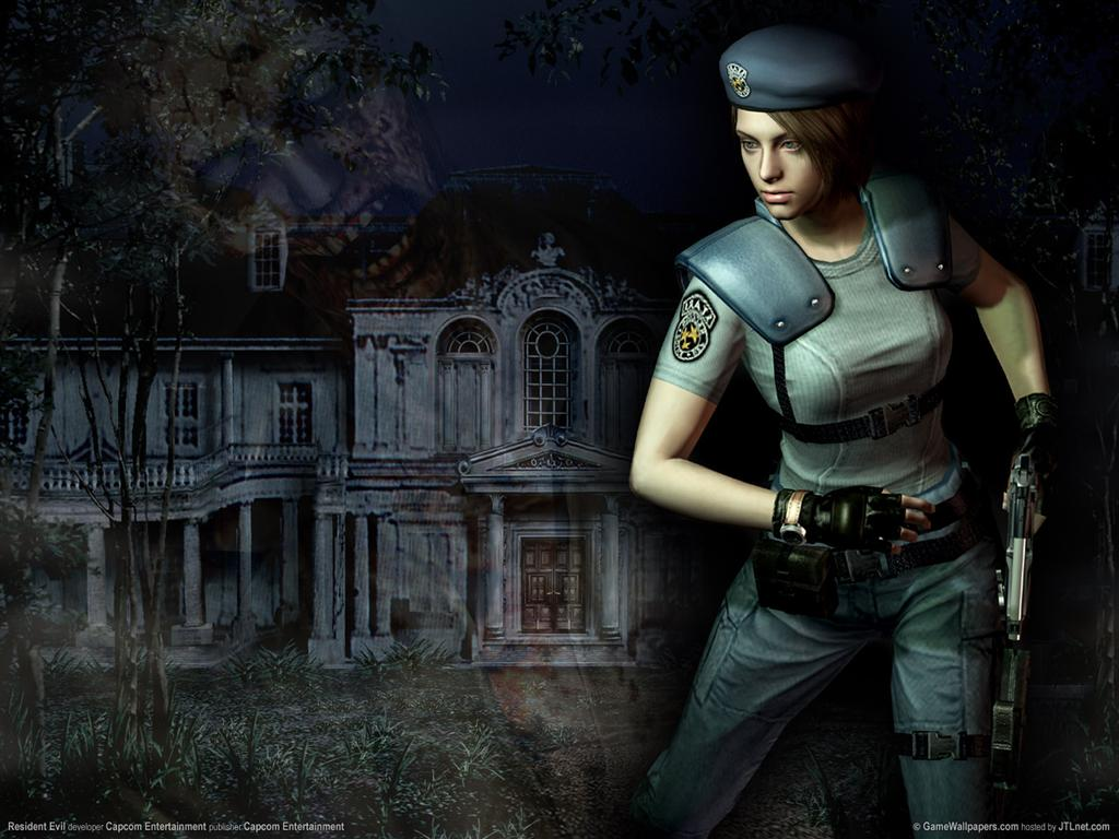 Resident Evil HD & Widescreen Wallpaper 0.31322859775727