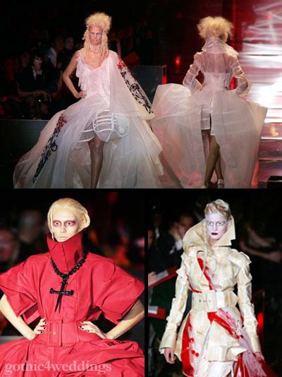 Gothic Dark Glamour Paris Fashion Week Photography