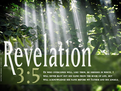 Revelation 3:5 Christian Bible Verse