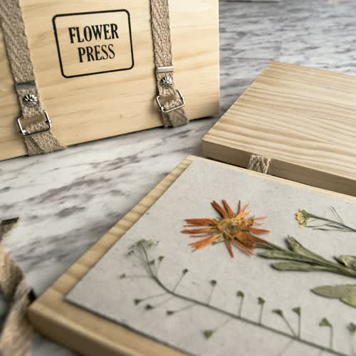 kit prensado de flores de Fábrica de Texturas