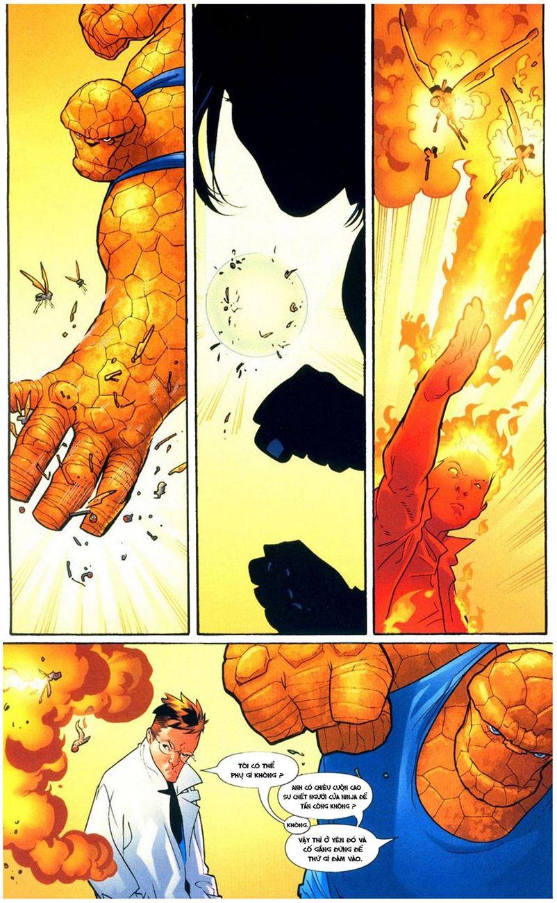 Ultimate Fantastic Four chap 9 - Trang 11