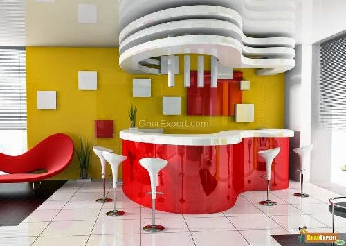 kitchen ceiling designs ideas, photos and types