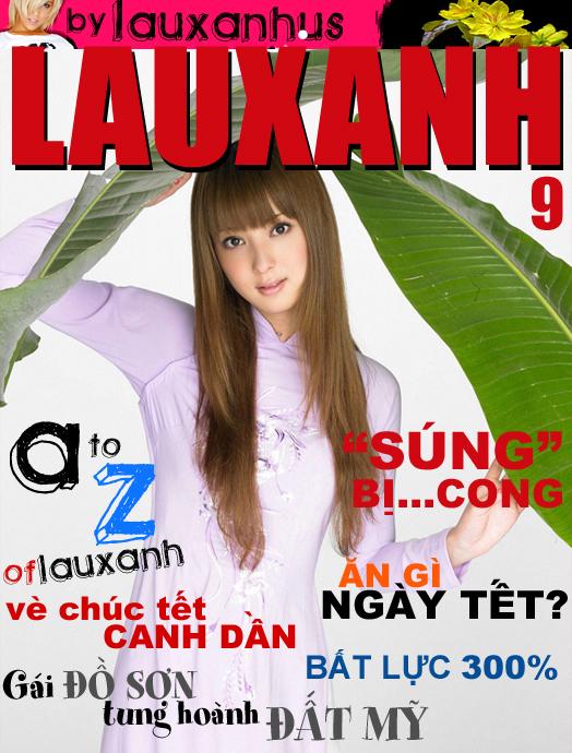 Magazines Tạp Chí ngưới lớn Việt Nam 18+ LAUXANH số 9