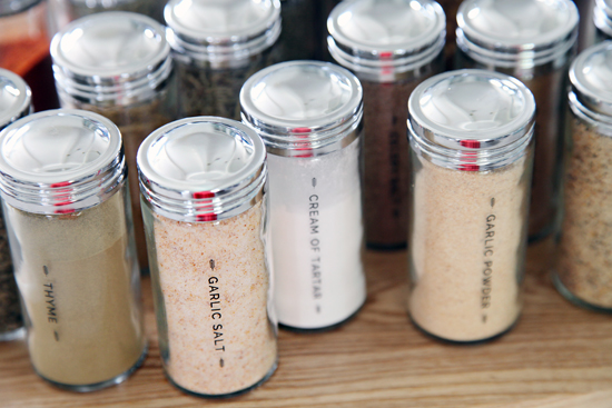 iheart organizing diy spice jar labels