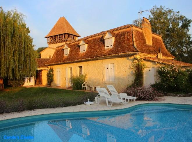 Maison Bournel, Lot et Garonne, France by Carole's Chatter