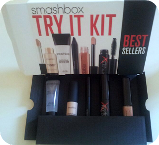 Smashbox Try It Kit out of the box