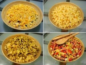 [Salad] Tự làm Salad Nga vị dứa thơm ngon ngậy vô cùng 3