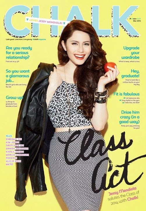 Jessy Mendiola Covers Chalk Magazine March 2014 Issue
