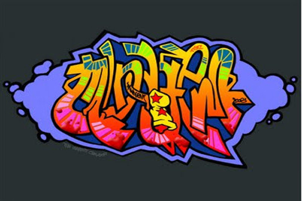 graffiti wallpaper designs - photo #29