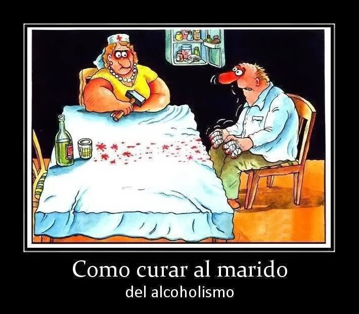 No existe a la borrachera y el alcoholismo