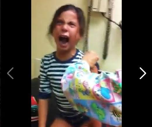 La niña que se merece un Oscar por su reacción a su vacuna