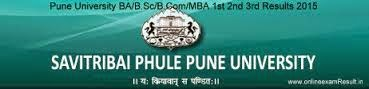 Pune University Time Table 2015 for F.Y. B.Com. (2008 Pattern) commerce