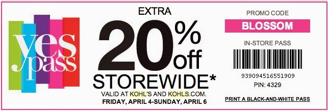 Kohl's Printable Store Coupons