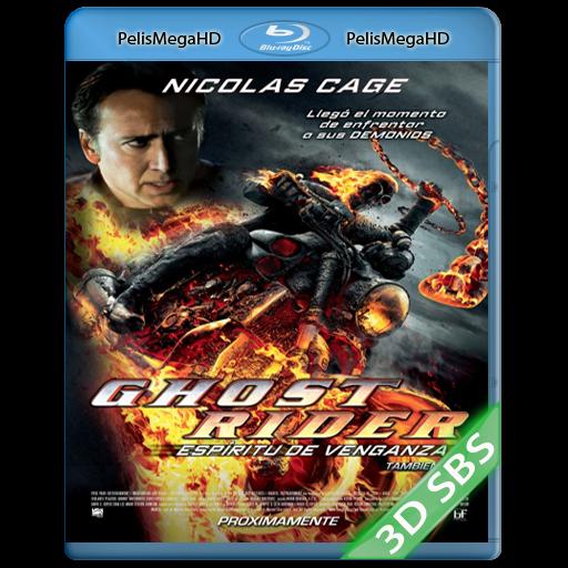 Ghost Rider 2: Espíritu de venganza (2012) 3D SBS 1080p HD MKV Español Latino