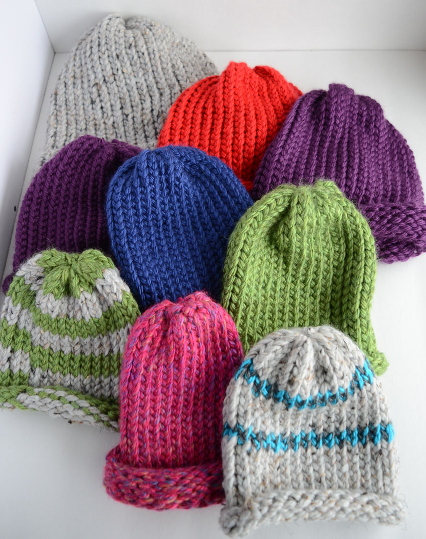 Diana Rambles: Easy Hat Knitting on a Loom