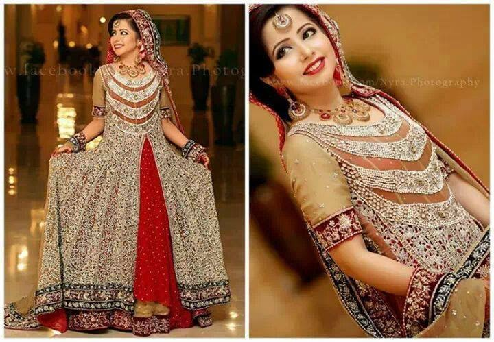 Pakistani New Bridal dresses 2014-15