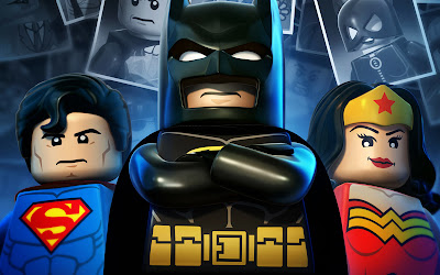 Lego Batman 2 DC Comic Heroes Superman and Wonder Woman HD Game Wallpaper