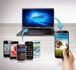 Samsung Smart Switch is software to easily copy data, apps and media files to a Samsung phone