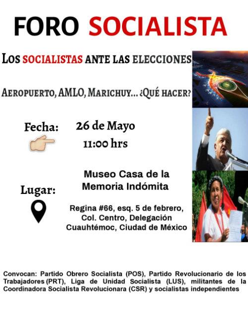 FORO SOCIALISTA