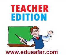 Teacher Edition Textbooks