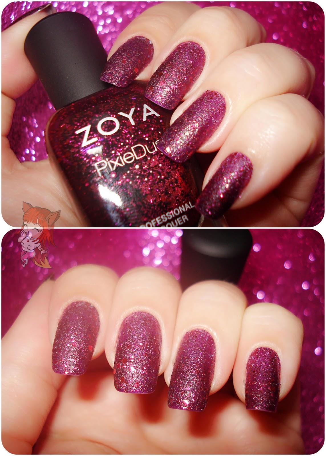 Esmalte Zoya Pixie Dust :: Noir