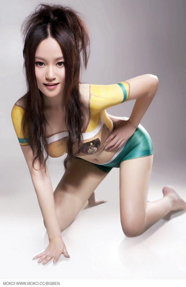 world Cup Bodypaint