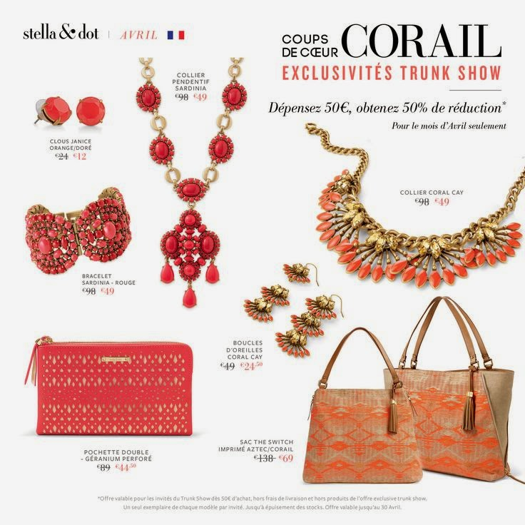 bon plan réduction code promo stella dot