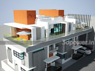 3D Contemporary Home