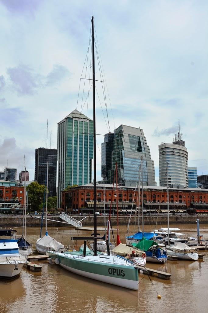 Puerto Madero Buenos Aires sailing