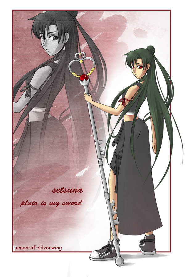 SKP: Sailor Pluto por Omen-of-SilverWing