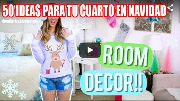 VIDEOS DE DECORACION DE NAVIDAD PARA EL DORMITORIO