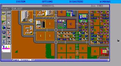Szene SimCity Classic