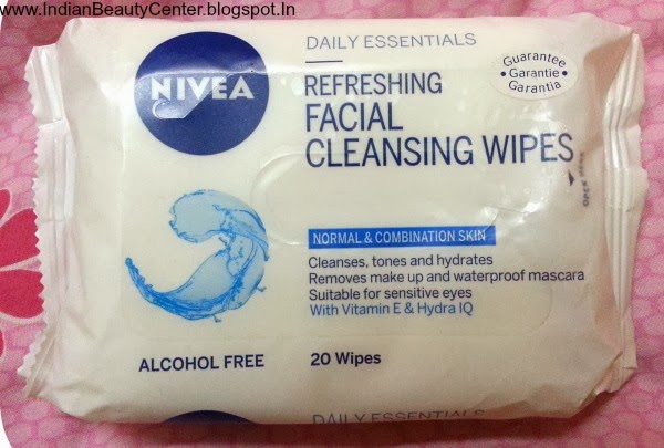 Nivea Daily Essentials Refreshing Facial Cleansing Wipes Review