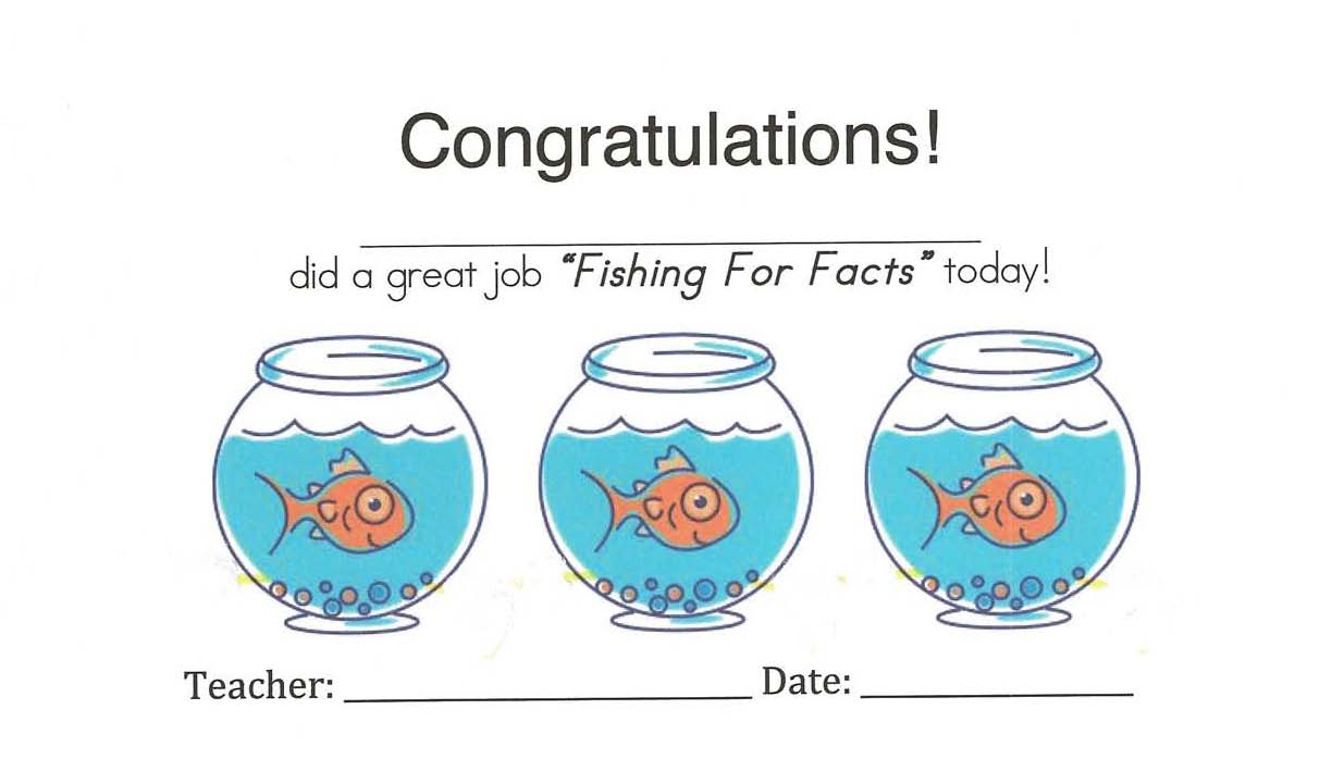 Classroom freebies fishing for math facts for Facts about fishing