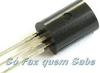 Componente eletrônico semicondutor.