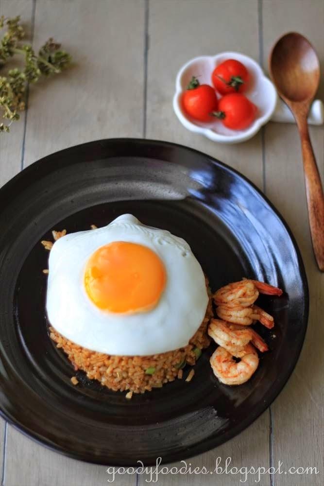 how to make king prawn fried rice