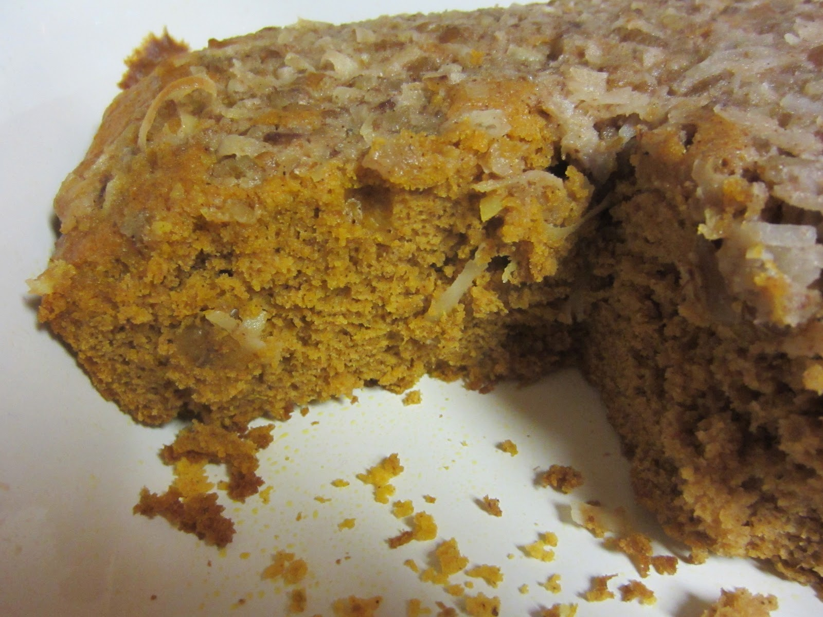 My Patchwork Quilt: PUMPKIN CRUNCH CAKE