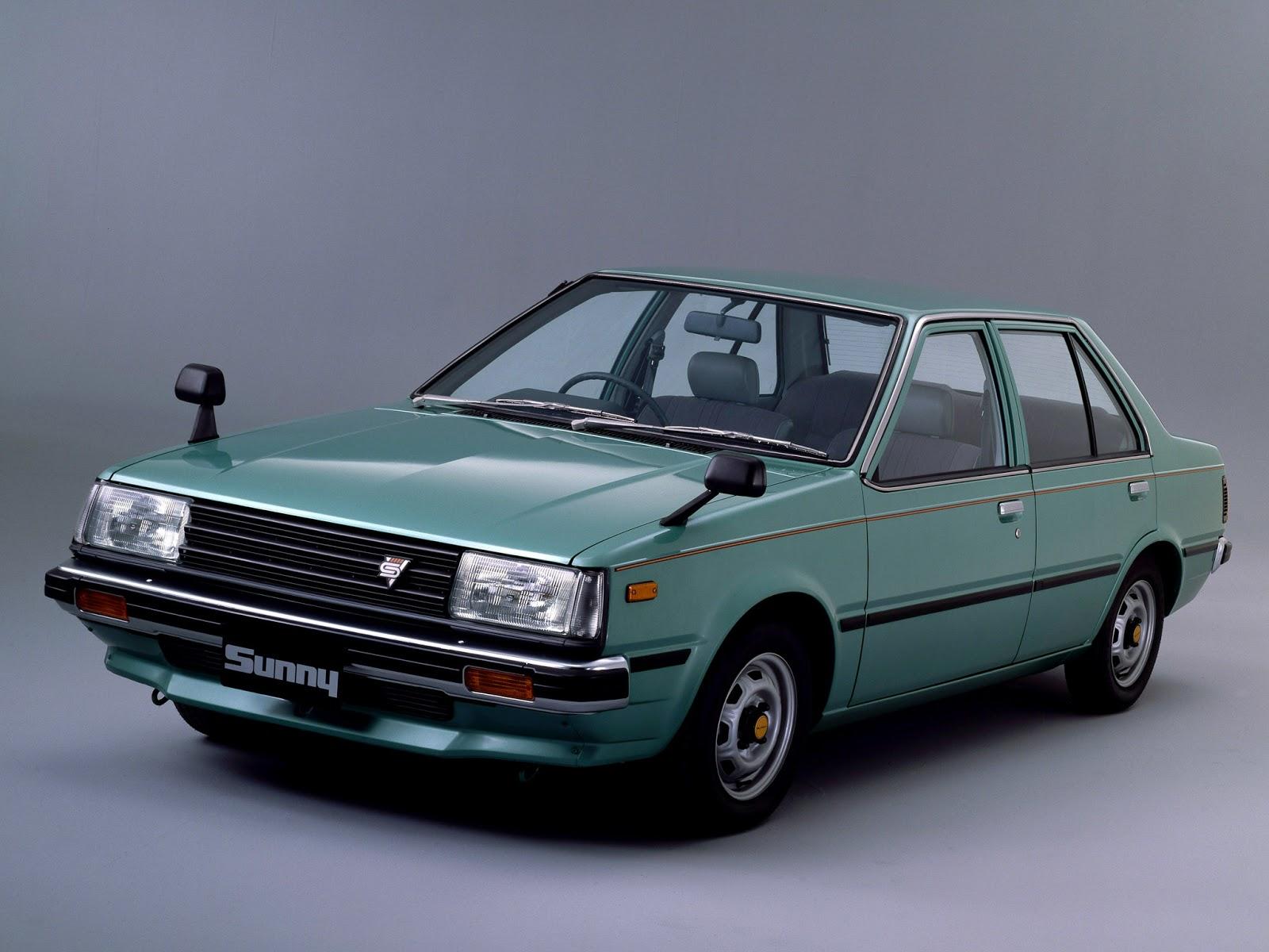 Speed Machines Classic 1981 Nissan Sunny B11 Sedan 17