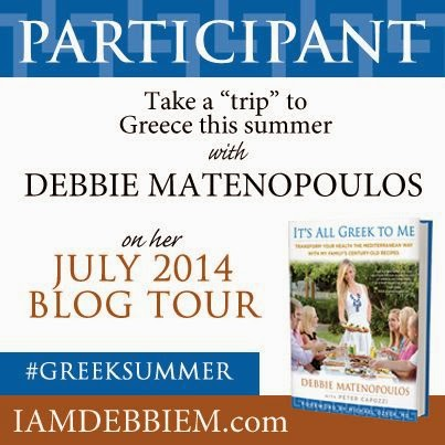 book tour It's all greek to me.