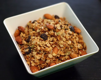Slow Cooker Almond Cherry Coconut Granola